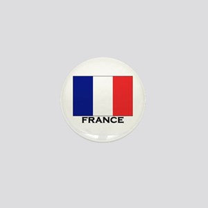 France Flag Stuff Mini Button